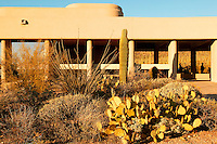 The visitor center at Saguaro National Park (Saguaro West) near Tucson, Arizona.