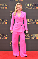 Camilla Kerslake at the Olivier Awards 2019, Royal Albert Hall, Kensington Gore, London, England, UK, on Sunday 07th April 2019.<br /> CAP/CAN<br /> ©CAN/Capital Pictures
