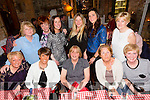Having a (relations) gathering in Finnegans restaurant on Saturday night were a group  who had travelled from the UK to visit friends and relations in Kerry.Pictured front l-r Janice Prigmore, Phil Garrahy, Teresa Meehan, Martha O'Sullivan and Maria Sheridan.Back l-r Teresa Donnelly, Kathleen Harrison, Caroline O'Sullivan, Abbey Sheridan and Angela Donnelly