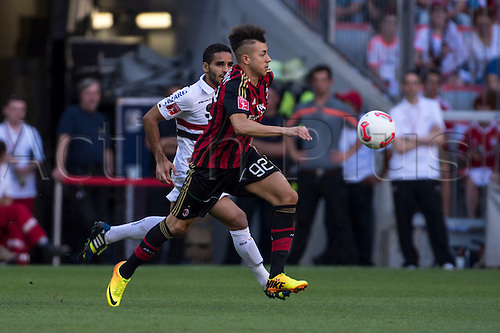 01.08.2013. Munich, Germany.  Stephan El Shaarawy (Milan) Audi Cup 2013 match between AC Milan 1-0 Sao Paulo FC at Allianz Arena in Munich, Germany.