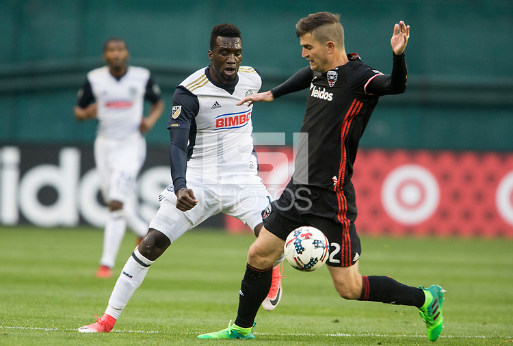 Washington, D.C. - Saturday May 13, 2017: The Philadelphia Union defeated D.C. United 4-0 in a MLS match at RFK Stadium.