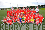 Iveragh United ran a very successful soccer camp in the South Kerry Sports Centre last week, pictured here the 60 budding hopefuls for the League of Ireland in 2019.