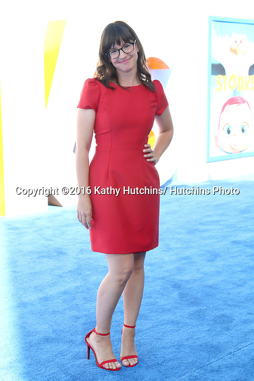 """LOS ANGELES - SEP 17:  Katie Crown at the """"Storks"""" Premiere at the Village Theater on September 17, 2016 in Westwood, CA"""