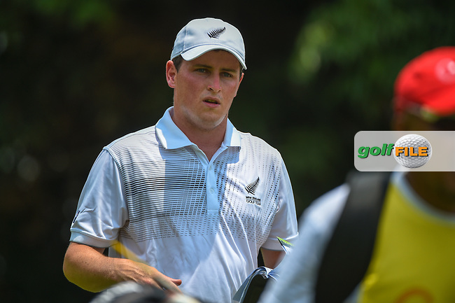 Matthew McLEAN (NZL) heads down 5 during Rd 2 of the Asia-Pacific Amateur Championship, Sentosa Golf Club, Singapore. 10/5/2018.<br /> Picture: Golffile | Ken Murray<br /> <br /> <br /> All photo usage must carry mandatory copyright credit (© Golffile | Ken Murray)