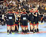 10.01.2019, Mercedes Benz Arena, Berlin, GER, Handball WM 2019, Deutschland vs. Korea, im Bild <br /> Deutsche-Spielerkreis<br /> <br />      <br /> Foto © nordphoto / Engler