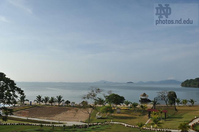 Hotel Intercontinental Playa Bonita in Panama...Photo by Matt Cashore/University of Notre Dame