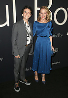 BEVERLY HILLS, CA - OCTOBER 8: Jack Grazer and Amy Ryan at the Los Angeles Premiere of Beautiful Boy at the Samuel Goldwyn Theater in Beverly Hills, California on October 8, 2018. <br /> CAP/MPIFS<br /> ©MPIFS/Capital Pictures