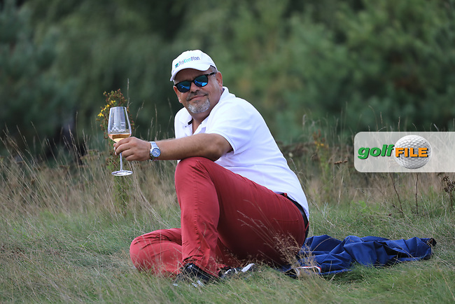 Spectator during the final round of the Porsche European Open , Green Eagle Golf Club, Hamburg, Germany. 08/09/2019<br /> Picture: Golffile | Phil Inglis<br /> <br /> <br /> All photo usage must carry mandatory copyright credit (© Golffile | Phil Inglis)