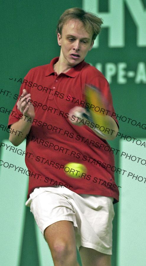 SPORT TENIS SAMSUNG OPEN GEMAX Nikola Ciric foto: Pedja Milosavljevic