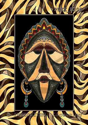 Kris, MODERN, ethnical, paintings, PLKKE208,#n#