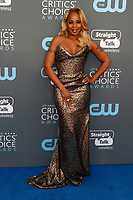 Mary J. Blige attends the 23rd Annual Critics' Choice Awards at Barker Hangar in Santa Monica, Los Angeles, USA, on 11 January 2018. Photo: Hubert Boesl - NO WIRE SERVICE - Photo: Hubert Boesl/dpa /MediaPunch ***FOR USA ONLY***