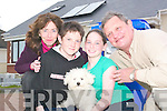 Twelve-year-old Eibhlis.Moriarty and her family.are to feature in the new.show, My Family Aren't.Wasters, which advises.families how they can.play their part in reducing.energy consumption and.their carbon footprint..Parents Eugene and.Sharon, and their children.Eibhlis and Eoghan,.spent four weeks learning.about how to improve.energy efficiency in their.homes and were set a.series of challenges along.the way..
