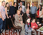 MIGHTY EIGHTY: Jackie Cahill, Kenmare who celebrated his 80th birthday with his family in the Brook Lane hotel, Kenmare on Saturday.