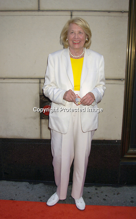 """Liz Smith ..at a Book party for Madonna's new book """"Lotsa De Casha"""" ..on June 7, 2005 at Bergdorf Goodman. ..Photo by Robin Platzer, Twin Images"""