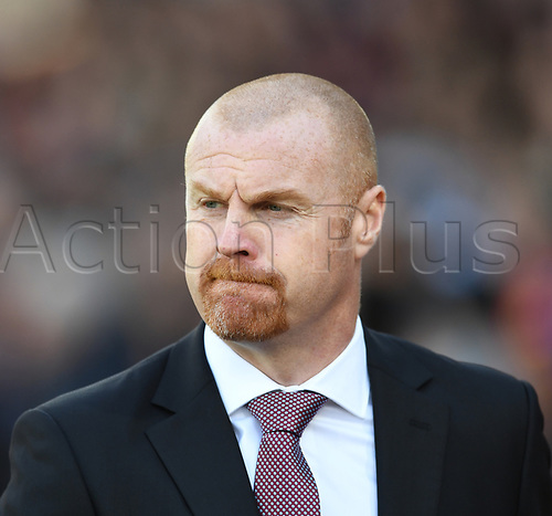 April 29th 2017, Selhurst Park, London England; EPL Premier league football, Crystal Palace versus Burnley; Sean Dyche, Manager for Burnley before kick off