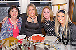 Lisa Kelliher, Laura Kelliher, Louise O'Connor, Channelle Hurley enjoying a Girls night out at the Stone House on Saturday