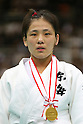 Haruka Tachimoto (JPN), .May 12, 2012 - Judo : .All Japan Selected Judo Championships, Women's -70kg class Victory Ceremony .at Fukuoka Convention Center, Fukuoka, Japan. .(Photo by Daiju Kitamura/AFLO SPORT) [1045]