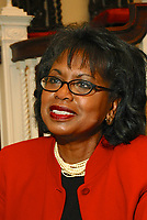 "Professor Anita Hill discusses her new book ""Reimagining Equality:Stories of Gender Race and Finding Home as part of the Cambridge Forum series How we Live Today at First Parish Church Cambridge MA 10.4.11"