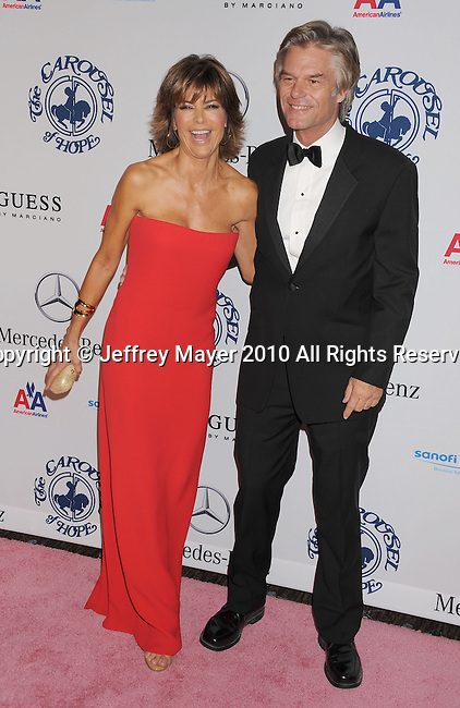 BEVERLY HILLS, CA. - October 23: Lisa Rinna and Harry Hamlin attend The 32nd Annual Carousel Of Hope Ball at The Beverly Hilton Hotel on October 23, 2010 in Beverly Hills, California.