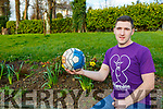 Aaron Brosnan Killarney who will play in the upcoming soccer game for Féileacain, Stillbirth and Neonatal Death Association of Ireland