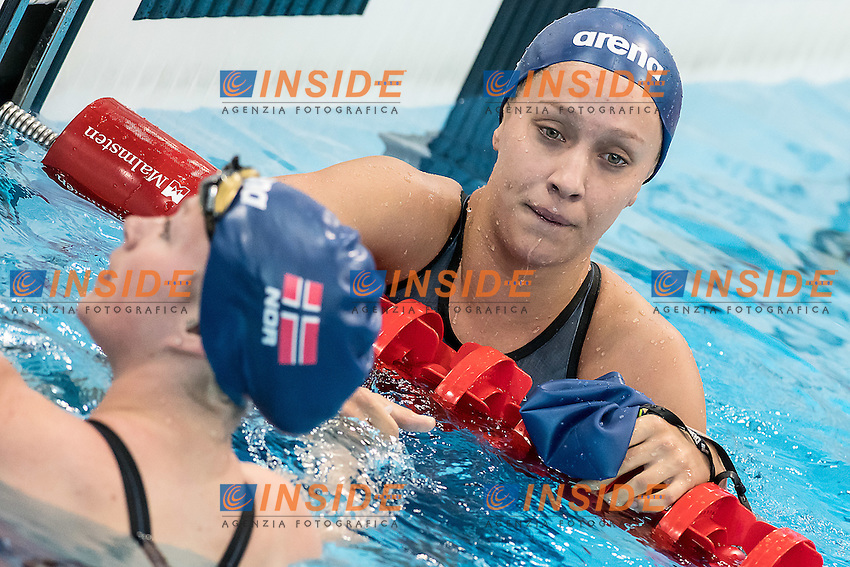 COLLEOU Stina Kajsa NOR<br /> 100 breaststroke women<br /> London, Queen Elizabeth II Olympic Park Pool <br /> LEN 2016 European Aquatics Elite Championships <br /> Swimming day 02  heats<br /> Day 09 17-05-2016<br /> Photo Giorgio Scala/Deepbluemedia/Insidefoto