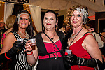 WATERBURY, CT. 18 May 2018-051818BS19 - From left, Casey Boyne of Cheshire, Nikki Devin, and Eileen Devin both of Waterbury stand together for a photo on Friday evening for the Palace's Annual Big Fundraiser. Bill Shettle Republican-American