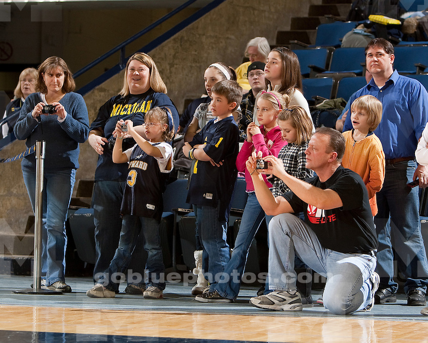 University of Michigan women's basketball 88-76 victory over Indiana at Crisler Arena in Ann Arbor, MI, on February 16, 2011.