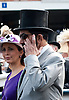 """ROYAL ASCOT 2011 DAY 1..Princess Haya and Sheikh Maktoum bin Rashid al-Maktoum has a bloody finger..It appeared that the Ruler of Dubai had gashed opened his finger at Royal Ascot_14/06/2011..Mandatory Photo Credit: ©Dias/Newspix International..**ALL FEES PAYABLE TO: """"NEWSPIX INTERNATIONAL""""**..PHOTO CREDIT MANDATORY!!: NEWSPIX INTERNATIONAL(Failure to credit will incur a surcharge of 100% of reproduction fees)..IMMEDIATE CONFIRMATION OF USAGE REQUIRED:.Newspix International, 31 Chinnery Hill, Bishop's Stortford, ENGLAND CM23 3PS.Tel:+441279 324672  ; Fax: +441279656877.Mobile:  0777568 1153.e-mail: info@newspixinternational.co.uk"""
