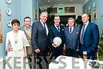 St. Senan's GAA Social: Attending St. Senan's Victory Dinner Dance at the Listowel Arms Hotel on Saturday night last were Marion McAuliffe, Mike Behan, Gerry Foran, Aidan Behan, Chairman St. Senan's GAA club, Tom Dillon & Alan Doran.