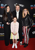 HOLLYWOOD, CA - MARCH 11: Izabel Araujo (L) and Joey Fatone attend the premiere of Disney's 'Dumbo' at El Capitan Theatre on March 11, 2019 in Los Angeles, California.<br /> CAP/ROT/TM<br /> &copy;TM/ROT/Capital Pictures