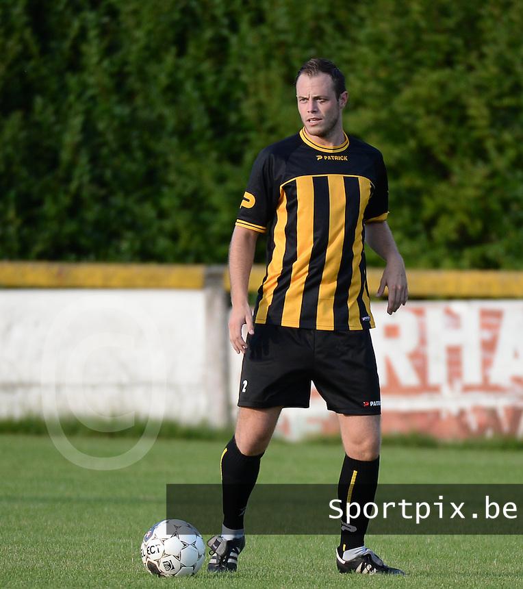 SK Voorwaarts Zwevezele : Jurrie Vandekerckhove<br /> foto VDB / BART VANDENBROUCKE