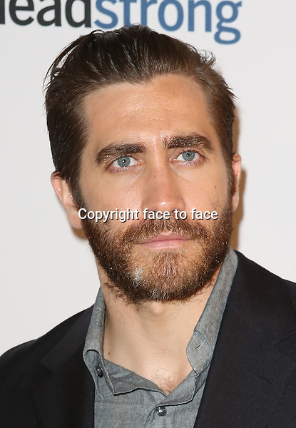 Jake Gyllenhaal attending The Headstrong Project - 'Words Of War' Event at IAC HQ in New York City on 5/8/2013....Credit: McBride/face to face