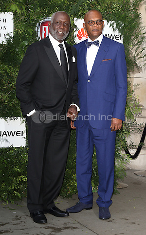 Samuel L Jackson and Richard Rountree at the One For The Boys Charity Ball, Victoria and Albert Museum, London on June 12th 2016<br /> CAP/ROS<br /> &copy;Steve Ross/Capital Pictures /MediaPunch ***NORTH AND SOUTH AMERICAS ONLY***