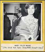 BNPS.co.uk (01202 558833)<br /> Pic: DominicWinter/BNPS<br /> <br /> Mary Tyler Moore.<br /> <br /> A remarkable set of 430 candid photographs of Hollywood royalty have been unearthed after 50 years.<br /> <br /> Included in the collection of unpublished pictures are snaps of silver screen icons Paul Newman, Charlie Chaplin, Bette Davis, Audrey Hepburn, and Dean Martin.<br /> <br /> Paul Newman is captured looking over his shoulder at the wheel of his car and Charlie Chaplin is pictured without his trademark moustache. <br /> <br /> Audrey Hepburn has posed with her then husband actor Mel Ferrer while Bette Davis can be seen puffing on a cigarette.<br /> <br /> The snaps were taken by obsessive amateur photographer Dwight 'Dodo' Romero from 1954 to 1967 who would hang around at Hollywood parking lots and other hang-outs to catch a glimpse of the stars.<br /> <br /> The photos, which more recently belonged to a book dealership in York, have emerged for auction and are tipped to sell for &pound;800.