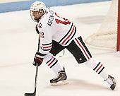 Zach Aston-Reese (NU - 12) - The visiting University of Vermont Catamounts defeated the Northeastern University Huskies 6-2 on Saturday, October 11, 2014, at Matthews Arena in Boston, Massachusetts.