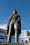Brigham Young Statue.Day at BYU.September 22, 2004.Photography by Mark A. Philbrick.0409-30 GCS Day at BYU.