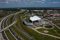 aerial photograph Florida State Fairgrounds, Interstate 4, Tampa, Florida