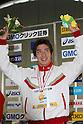 Takuro Fujii, .FEBRUARY 11, 2012 - Swimming : .The 53rd Japan Swimming Championships (25m) .Men's 100m Individual Medley Victory Ceremony .at Tatsumi International Swimming Pool, Tokyo, Japan. .(Photo by YUTAKA/AFLO SPORT) [1040]