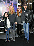 Billy Ray Cyrus with wife Tish Cyrus daughters Brandi and Noah Lindsay Cyrus at the premiere of Joyful Noise held at Grauman's  Chinese Theatre in Hollywood, CA. January 9, 2012