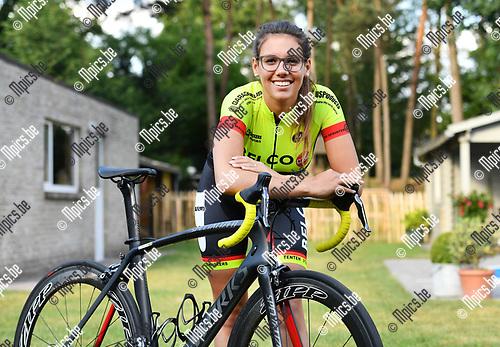 2017-06-09 / Wielrennen / Seizoen 2017 / Lynn Mari&euml;n uit Wechelderzande<br />  <br /> ,Foto: Mpics.be