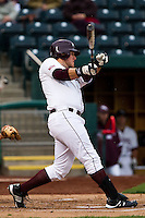 Brock Chaffin (25) of the Missouri State Bears during a game vs. the Western Illinois Leathernecks at Hammons Field in Springfield, Missouri;  March 19, 2011.  Photo By David Welker/Four Seam Images