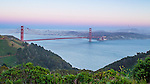 Golden Gate Bridge, San Francisco, CA April 20, 2013....