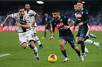 Matteo Darmian of Parma and Lorenzo Insigne of Napoli compete for the ball<br /> Napoli 14-12-2019 Stadio San Paolo <br /> Football Serie A 2019/2020 <br /> SSC Napoli - Parma Calcio 1913<br /> Photo Cesare Purini / Insidefoto