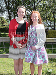 Kate Kelly and Suranne Ellard who were confirmed in Holy Family church Ballsgrove. Photo:Colin Bell/pressphotos.ie