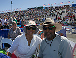 Jean and James Smith during the National Championship Air Races in  Reno, Nevada on Saturday, Sept. 14, 2019.