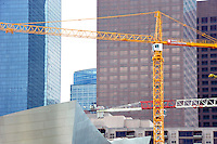 Building Trades News Cranes at Broad