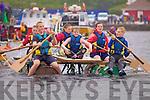 Still going strong l-r; Amy Lyne, Robert Trew, Chloe Lyne, Katie, Trew, Ciara Lyne & Joe O'Driscoll enjoying their little sea adventure on Saturday at the Valentia Raft Race.