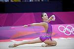Francesca Jones GB Rhythmic Gymnast at London 2012
