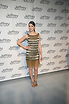 Emmy Rossum Attends Jeffrey Fashion Cares 10th Anniversary New York Fundrasier Hosted by Emmy Rossum Held at the Intrepid, NY  4/2/13