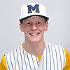 Chris Wasson of Massapequa poses for a portrait during Newsday's varsity baseball season preview photo shoot at company headquarters on Saturday, March 18, 2017.